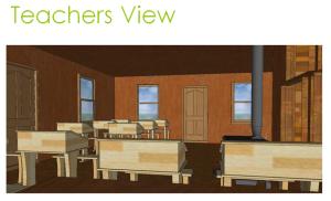 New Hope School (Lake Benson: Wynne High School) Google SketchUp