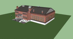 Fort Smith Historical Site (Dakotah Martinez: Nettleton Junior High) Google SketchUp