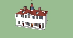 Mount Vernon (Ben Holder: Nettleton High School) Google SketchUp