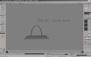 The St. Louis Arch (Logan Kumar: Nettleton Junior High) Softimage
