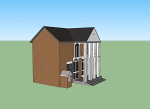 The Hunt House (Brady Darr: Nettleton Junior High) Google SketchUp